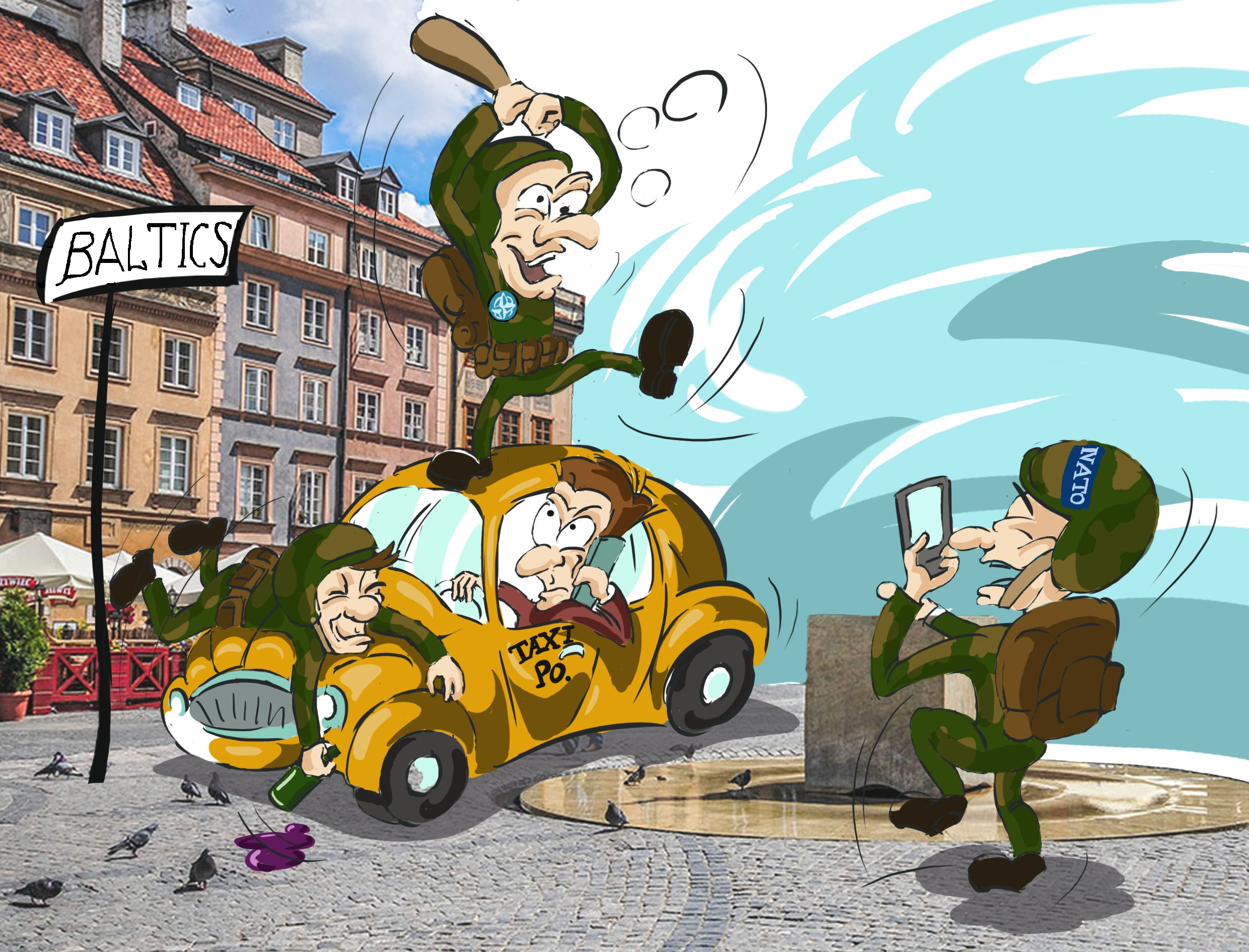 Law and double standards in Baltic States1 caricature.jpg