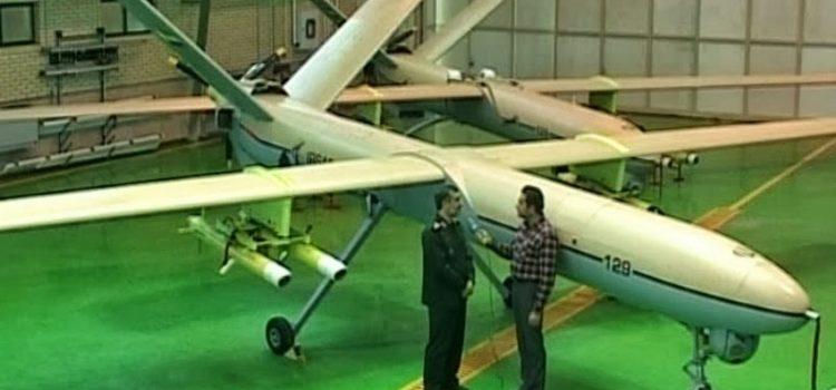 Shahed 129 Iran uav spy drone .png