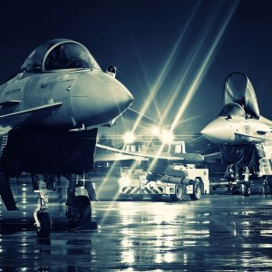 Eurofighter typhoon night-light