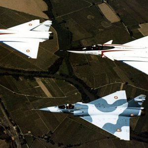 Mirage 4000 and Mirage 2000's