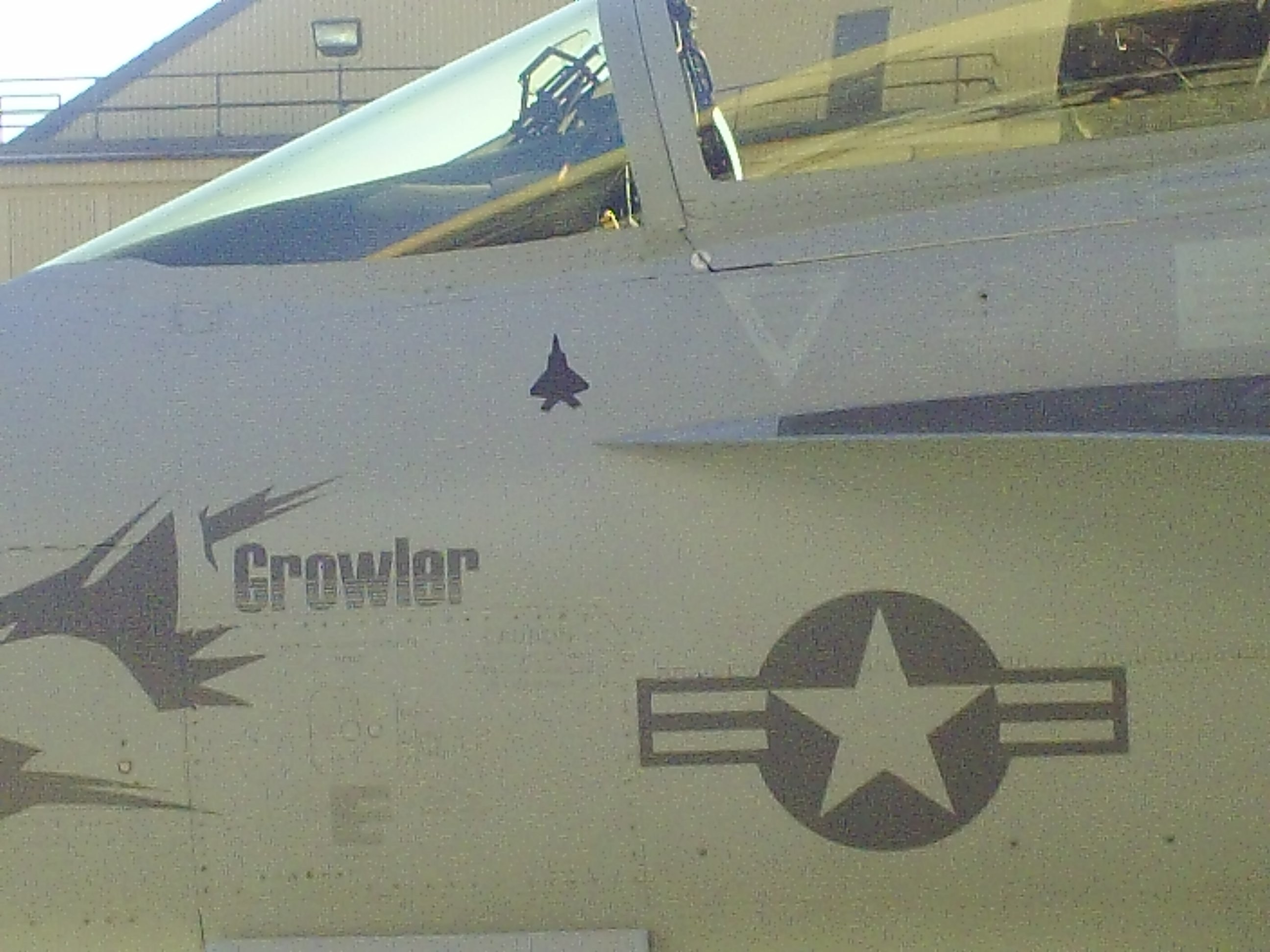 F-22 kill mark on growler